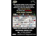 Want to buy Star Wars figures and ships