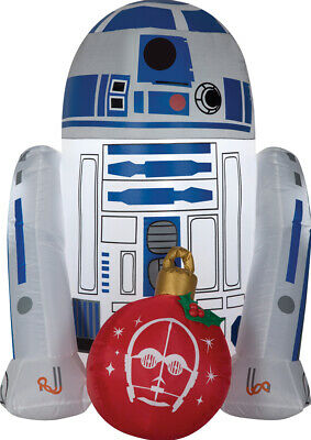 Airblown R2D2 With Ornament Star Wars