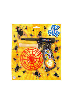 Fly Swatter Gun Spring Loaded Mosquito Insect Control Killer Swat Bug Pest Flies