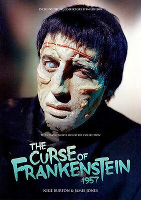 The Curse of Frankenstein Chris Lee Peter Cushing Hammer horror movie magazine