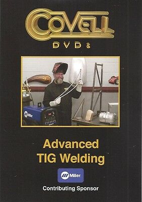 Advanced Tig Welding Dvd Covell Metalshaping Auto Body Sheet Metal Fabrication