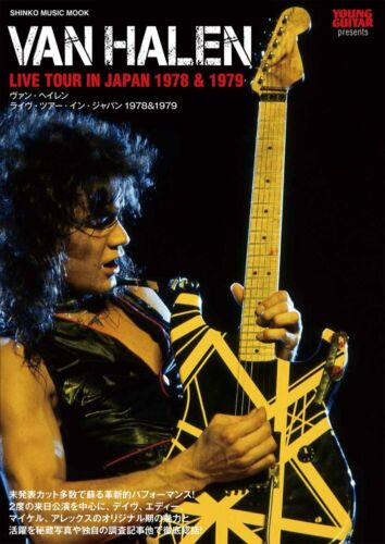 VAN HALEN LIVE TOUR IN JAPAN 1978 & 1979 Young Guitar SHINKO MUSIC MOOK Book NEW