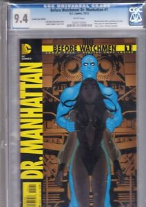 CGC Before Watchmen: Dr. Manhattan #1 comic (9.4) Peterborough Peterborough Area image 1