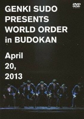 New Genki Sudo Presents WORLD ORDER in Budokan DVD Japan