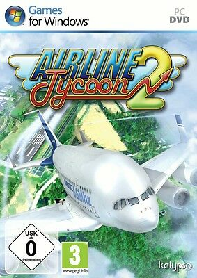 Airline Tycoon 2 PC Neu & OVP