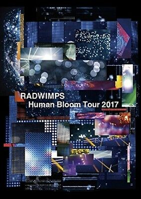 New RADWIMPS Human Bloom Tour 2017 Live 2 DVD Japan