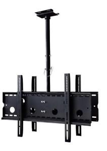 DOUBLE SIDED TV CEILING MOUNT HEIGHT ADJUSTABLE MOUNT 32-75  INCH TV - HOLD UP TO 150 LB. @ ANGEL ELECTRONICS $124.99