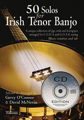 50 Solos for Irish Tenor Banjo Sheet Music Waltons Irish Music Books 000634240