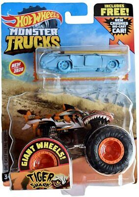 NEW for 2020 MONSTER TIGER SHARK AND CRUSHED WAGON! MFG. SEALED! EXCELLENT!