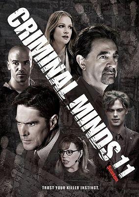 Criminal Minds: The Eleventh Season 11 (DVD, 2016, 6-Disc Box Set) New Sealed