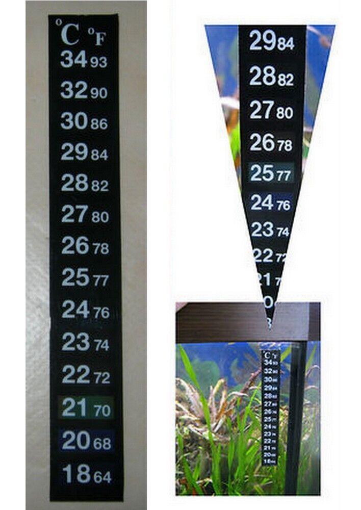 Digital Thermometer Temperatur Messer Messgerät für Aquarium zum Kleben *NEU****