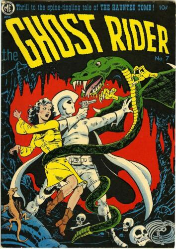 The Ghost Rider #7 Photocopy Comic Book