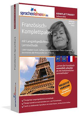 FRANZÖSISCH lernen von A bis Z Sprachkurs-Komplett-DVD plus