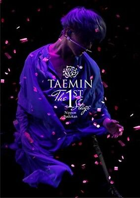 SHINee TAEMIN THE 1st STAGE Nippon Budokan DVD Photo Booklet Japan UPBH-20198