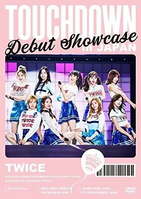 New TWICE DEBUT SHOWCASE Touchdown in JAPAN DVD WPBL-90448
