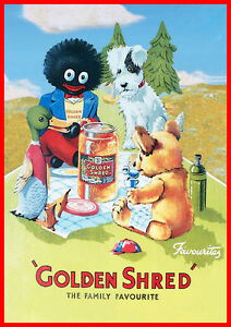 Golden-Shred-Marmalade-RETRO-Vintage-Advert-METAL-Wall-Sign-Plaque-poster-print
