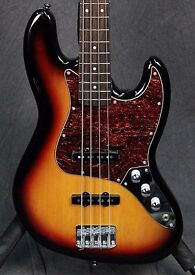 Squier vintage modified jazz bass mint