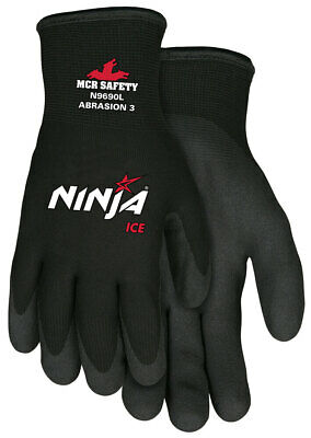 Mcr Safety Ninja Ice Insulated Cold-weather Work Gloves