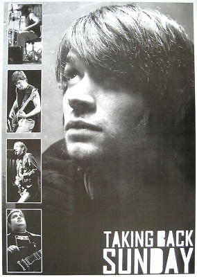 Taking Back Sunday Poster (TAKING BACK SUNDAY POSTER LOUDER NOW LIVE COLLAGE)