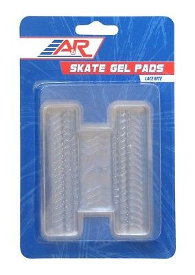 A&R Sports Hockey Skate Lace Bite Gel Pads, (1) Pair, Easily Attach to Tongue