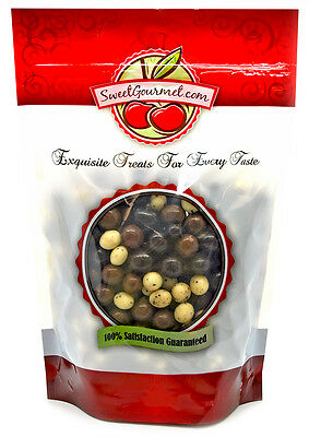 SweetGourmet Chocolate Espresso Beans Blend (Dark,White,Milk)-1Lb FREE SHIPPING! Dark Chocolate White Chocolate