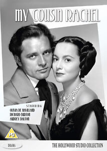MY COUSIN RACHEL -DVD (1952). New and Sealed. Theatrical Trailer