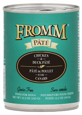 Fromm Chicken & Duck Pata Dog Food, 12 cans, 12.2 ounces each