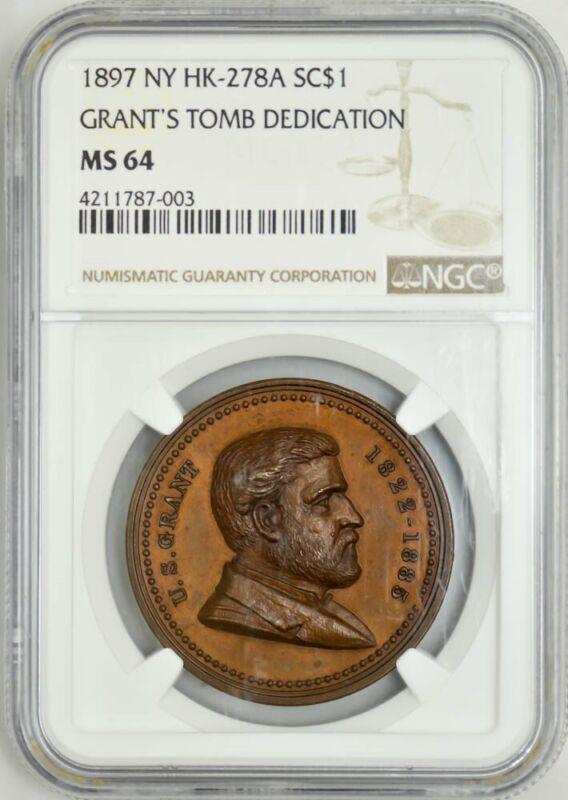1897 NY HK-278A So Called $ Grant