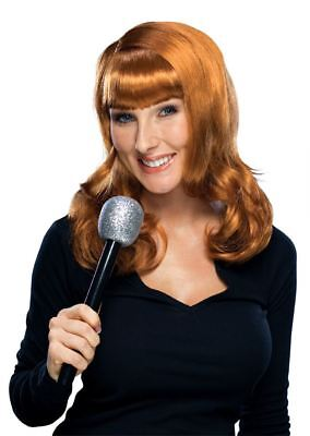 KATHY GRIFFIN WIG D list red hair bangs womens adult halloween costume accessory](Halloween Red Hair)