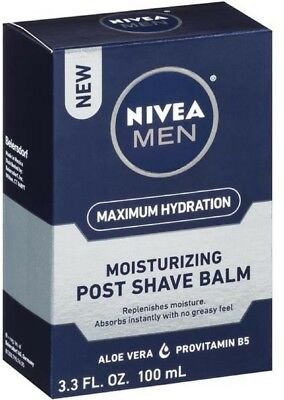 NIVEA Men Maximum Hydration Moisturizing Post Shave Balm 3.3 oz (Pack of 3)