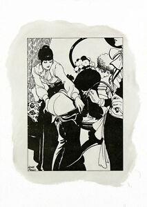 Leone-Frollo-2010-Di-litho-amp-oil-on-paper-039-punizione-039-non-authorized-copy-COA