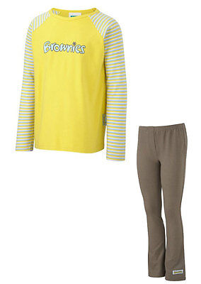 Kids Brownie Pack 1 Official Long Sleeve T-Shirt and Leggings - All Sizes - New ()