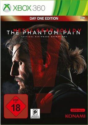 Metal Gear Solid V: The Phantom Pain - Day One Edition XBOX360 Neu & OVP
