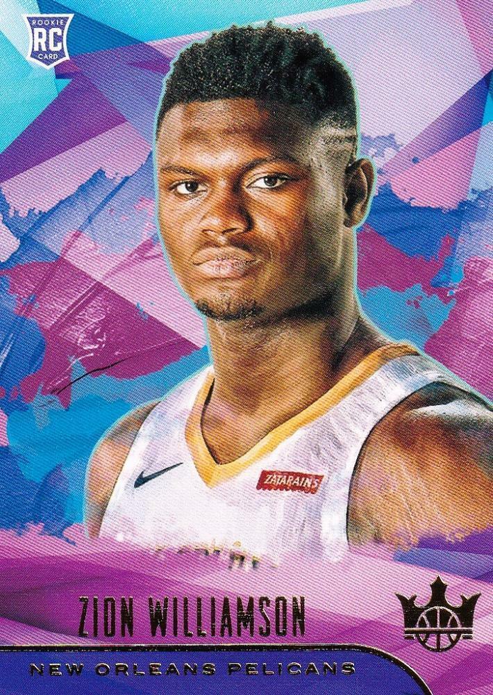 NBA Card 2019-20 Zion Williamson Panini Court Kings Pelicans Rookies I