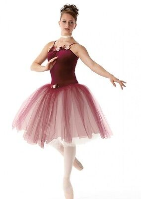 Kiss From A Rose Dance Costume Romantic Ballet Tutu Clearance Child X-Small