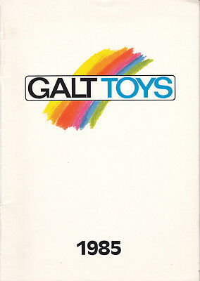 Galt Toys 1985 Catalog Contains First Years Imaginative Play Construction Play](Construction Containers)