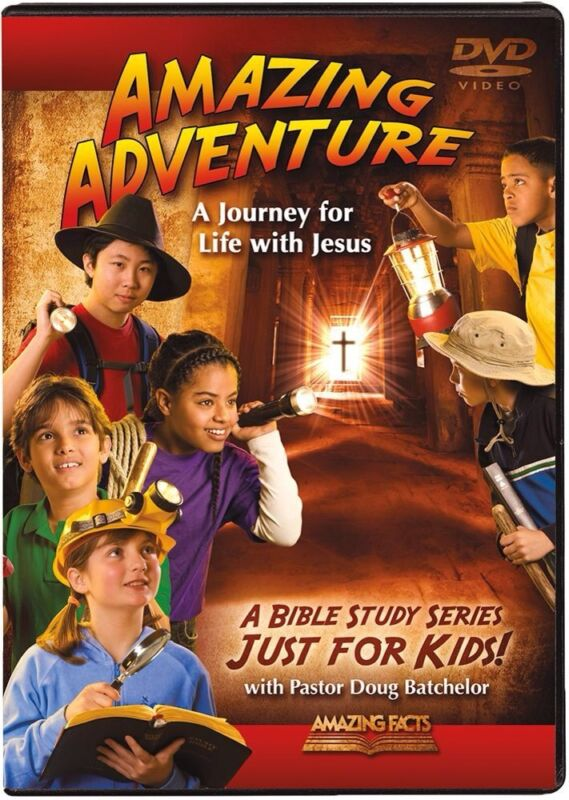 """AMAZING ADVENTURES"" DVD SET JUST FOR KIDS BY DOUG BATCHELOR"