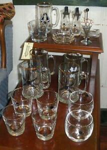 Assorted Bowling Glassware
