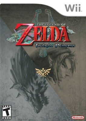 The Legend Of Zelda: Twilight Princess Wii Game