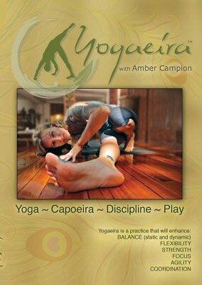 YOGAEIRA DVD WITH AMBER CAMPION YOGA CAPOEIRA DISCIPLINE PLAY NEW SEALED