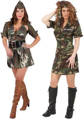 sexy Army Lady Camouflage Soldat Soldatin Karneval Fasching Kostüm - Sexy Army Kostüm