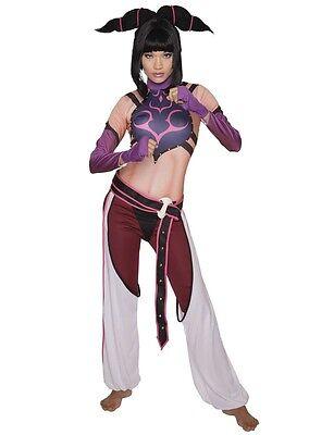 Street Fighter Juri Womens Costume, Capcom, - Street Fighter Juri Kostüm