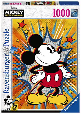 "Ravensburger Erwachsenenpuzzle 15391"" Retro Mickey Puzzle"