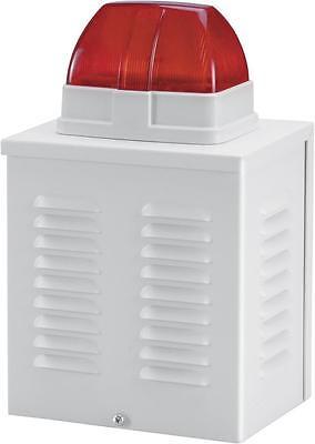 Leergehäuse für Alarmsirene oder Blitzleuchte   Außen- und Innenbereich  ABUS SG
