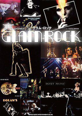 Crossbeat Glamrock book photo David Bowie T Rex Slade Sweet Mott the Hoople