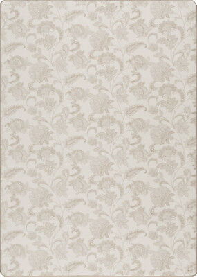 Milliken Paisley Rug (Milliken Stately Beige Leaves Petals Paisley Contemporary Area Rug Floral)