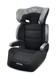 Harmony Group 2/3 Dreamtime Deluxe Comfort Booster Baby Car Seat Black New RRP£130