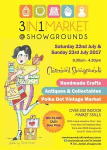 3 in 1 Market @ SHOWGROUNDS Claremont Nedlands Area Preview