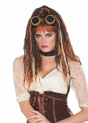 Steampunk Havoc Dreadlock Wig, Mad Max, Forum Novelties - Steampunk Wigs