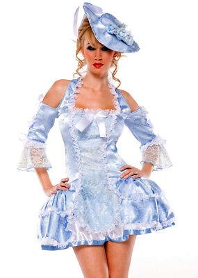 Marie Antoinette Halloween Costume (COQUETTE SEXY MARIE ANTOINETTE VICTORIAN PRINCESS HALLOWEEN COSTUME DRESS M)